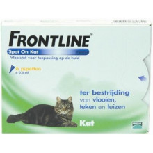 Frontline Spot on Kat 6 pipet
