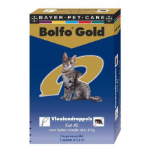 Bayer Bolfo Gold kat tot 4kg 2pipet