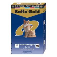 Bayer Bolfo Gold kat vanaf 4kg 2pipet