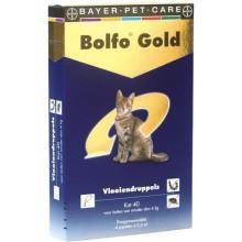 Bayer Bolfo Gold kat tot 4kg 4pipet