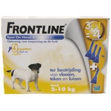 Frontline Spot-On Hond tot 10kg 4 pipetten