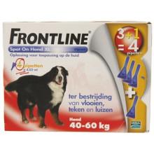 Fronline Spot-On Hond van 40 tot 60kg 4 pipetten