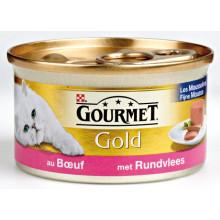Gourmet Gold Mousse Rundvlees 85g