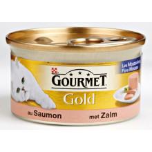 Gourmet Gold Mousse Zalm 85g