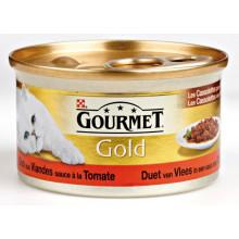 Gourmet Gold Cassolettes Rund/Kip 85g