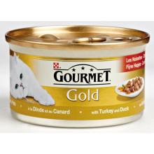 Gourmet Gold Fijne Hapjes Kalkoen/Eend 85g