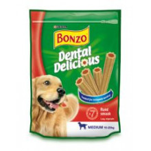 Bonzo Dental Delicious Rund Medium 200g