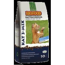 Biofood 3-mix Kattenbrokjes 10kg