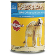Pedigree blik puppy 400 gram