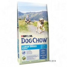 Dogchow puppy large breed 14kg