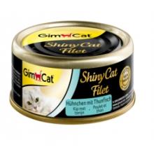 ShinyCat 70 gr filet kip tonijn